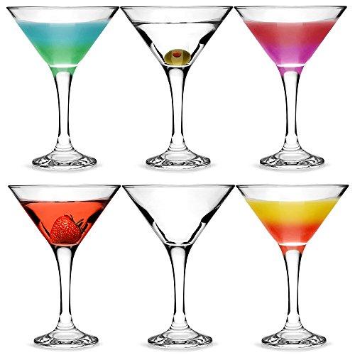 city martini gl ser 175 ml 6 st ck in geschenk box klassische v f rmige martini gl ser zum. Black Bedroom Furniture Sets. Home Design Ideas