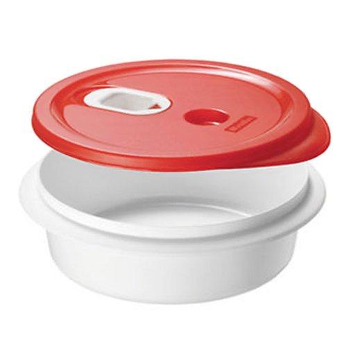xavax mikrowellenteller set mit deckel zum erhitzen einfrieren und portionieren von speisen. Black Bedroom Furniture Sets. Home Design Ideas