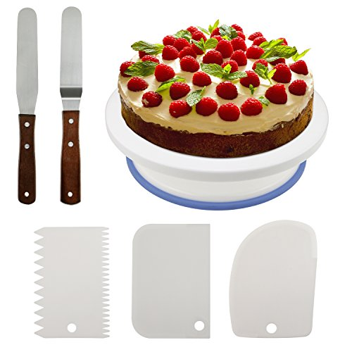 Philonext 10 8 tortenplatte drehbar professionelle for Ikea kuchenplatte