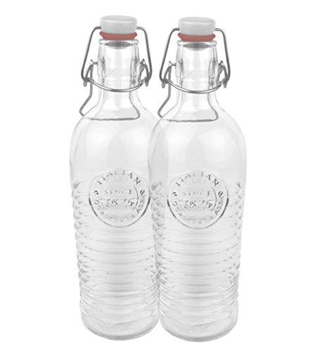 1 xxl glasflasche mit b gelverschluss f r 2 liter zum. Black Bedroom Furniture Sets. Home Design Ideas