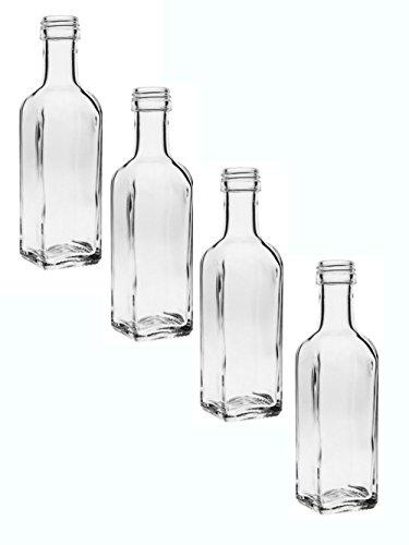 24er set flasche maraska 250 ml inkl schraubverschluss silber lik rflaschen schnapsflaschen. Black Bedroom Furniture Sets. Home Design Ideas