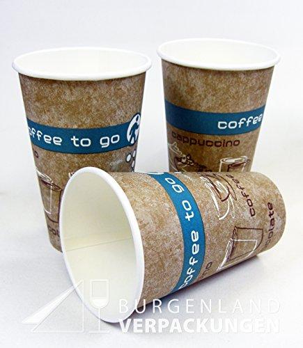 kaffeebecher coffee to go 300ml mit deckel 100 st ck resiako. Black Bedroom Furniture Sets. Home Design Ideas