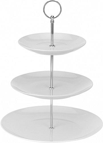 kuchen etagere aus keramik keramik 2 ablagef cher resiako. Black Bedroom Furniture Sets. Home Design Ideas