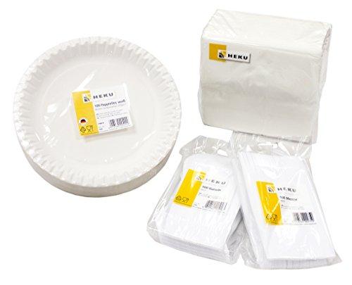 Heku 30450 50 einweg trinkbecher klar 0 5l pp resiako for Ikea trinkbecher