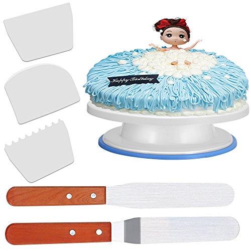 Wei damitech tortenplatte drehbar kuchenplatte cake for Ikea kuchenplatte