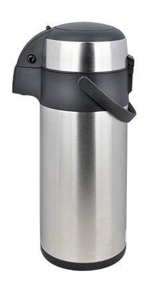 airpot 5l mit pumpmechanismus pumpkanne isolierkanne thermoskanne aus edelstahl 5 liter resiako. Black Bedroom Furniture Sets. Home Design Ideas