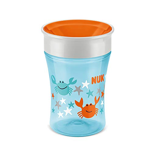NUK Magic Cup Trinklernbecher, 360° Trinkrand ...